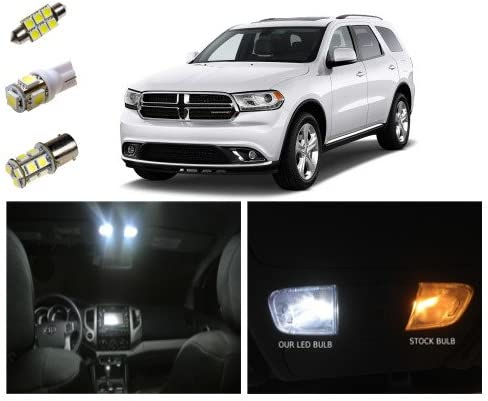 Amazon Com Check It Auto Led Light Kit For 11 Dodge Durango Interior Reverse Package 14 Pieces Automotive