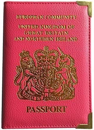 VISKEY PU Leather Passport Holder Wallet