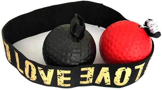 BEARCOLO - Pelota de Boxeo portátil con Cinta para la Frente para ...