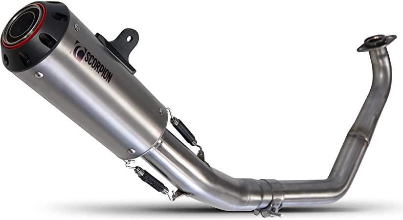 Scorpion Serket Parallel Titanium Oval Exhaust RTR80TEO Triumph Tiger 1200 Explorer 2016-Current