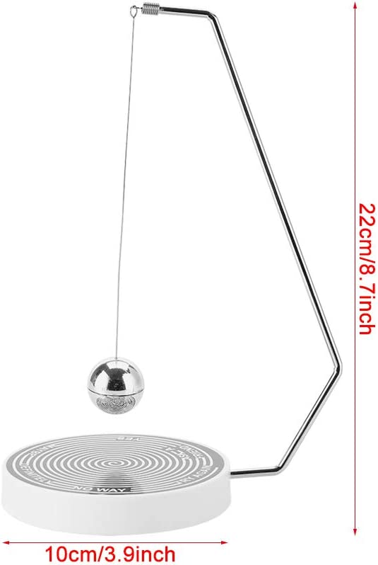 #01 Hilitand Magnetic Decision Maker Ball Swing Pendulum Office Desk Decoration Toy Gift,Perfect Indecisive Moments