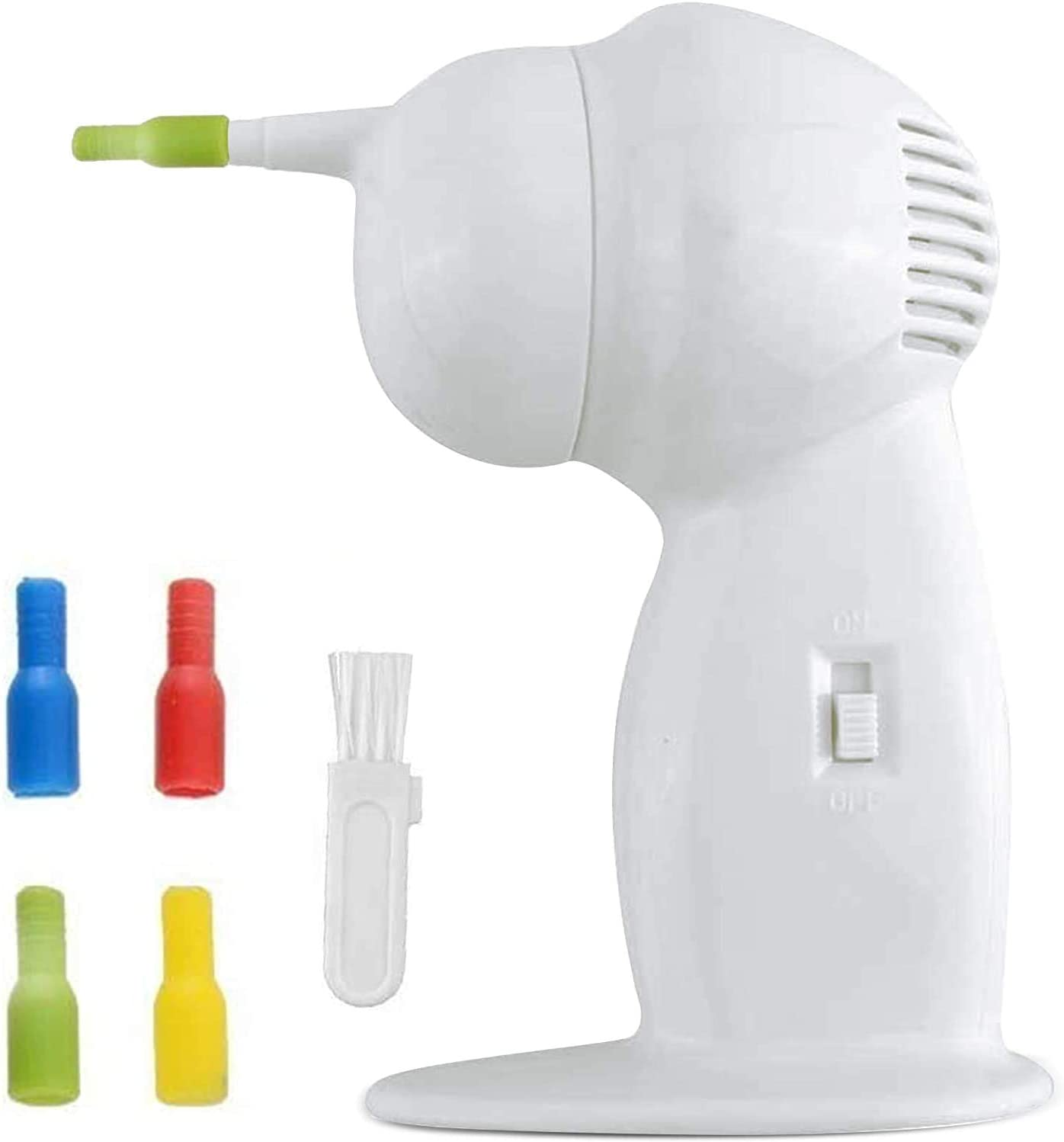 Ear Wax Removal, Ear Cleaner, Electric Ear Wax Vacuum, Safe and Effective Ear wax Removal Tool for Ear Cleaning