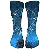 zodiac kids boots - Zodiac Signs Compression Socks Sports Stockings Long Socks Football Socks