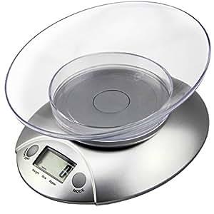 Etekcity 11lb/5kg Digital Kitchen Food Scale, Volume Measurement Supported (Certified Refurbished)