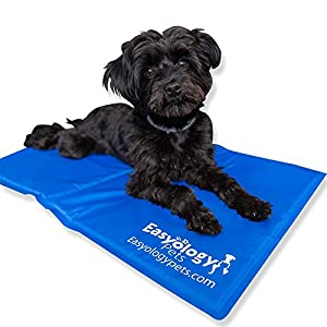 Amazon.com : Large Pet Cooling Mat - Cold Gel Pad For Cats and Dogs