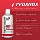 Artnaturals Rubbing Isopropyl Alcohol - 99% Pure