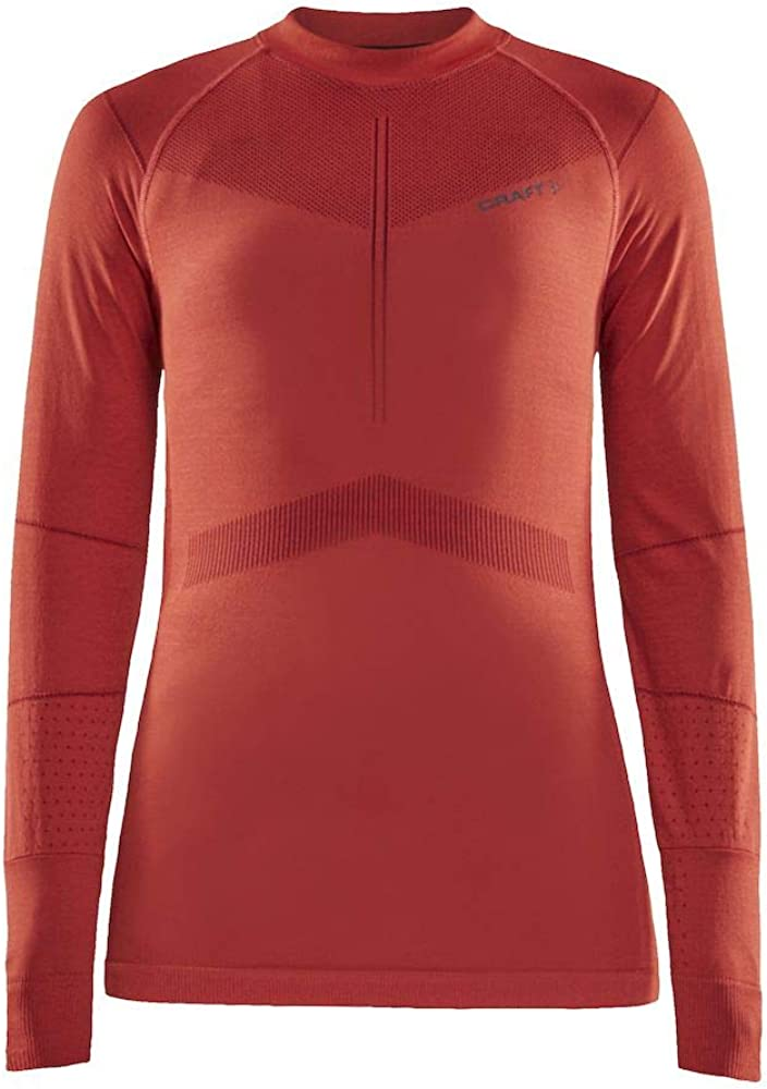 Craft Womens Active Intensity Long Sleeve Crew Neck Base Layer Shirt