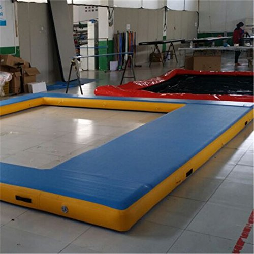 16.4ft x14.8ft Swimming Pool Inflatable Swimming Pool with Free Pump ...