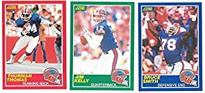 1989 Score Football Team Set - BUFFALO BILLS w/ Thurman Thomas RC