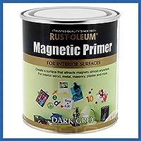 Rust-Oleum RO0010001E1 Multi Surface Magnetic Primer, 500ml, Dark Grey by Rustoleum