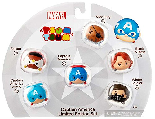 Tsum Marvel Captain America Limited
