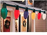Gemmy Holiday Living Giant Inflatable C9 Christmas Light Bulb String Outdoor