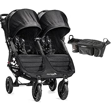 Baby Jogger City Mini Gt Double Stroller With Parent Console Black Black
