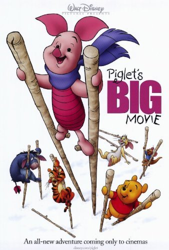Piglet's Big Movie POSTER Movie (27 x 40 Inches - 69cm x 102cm) (2003)