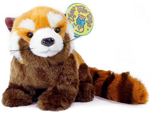 VIAHART Raja The Red Panda | 1 1/2 Foot (with Tail!) Large Red Panda Stuffed Animal Plush | by Tiger Tale Toys