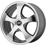 "American Racing Custom Wheels AR895 Dark Silver Wheel With Machined Face (14x6""/4x100, 114.3mm, +35mm offset)"