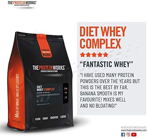 Diet Whey Complex para perder peso | Batido de proteína whey ...