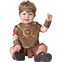 Disfraz de Gladiador InCharacter Baby Boy, Rojo /Tostado, X-Small de Fun World