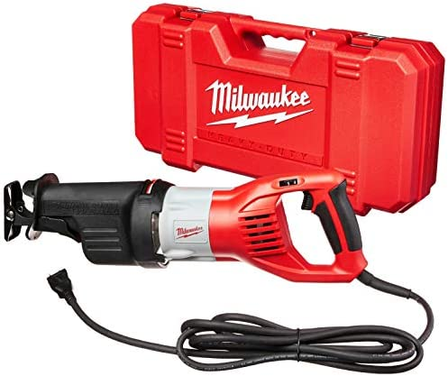 Milwaukee 6538-21 15.0 Amp Super Sawzall Reciprocating Saw