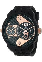 Joshua & Sons Men's JS52RG Black Multi-Function Watch