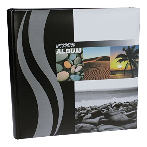 (Dorr Wave Palm Tree Traditional Photo Album 100 Side 12'' Square)