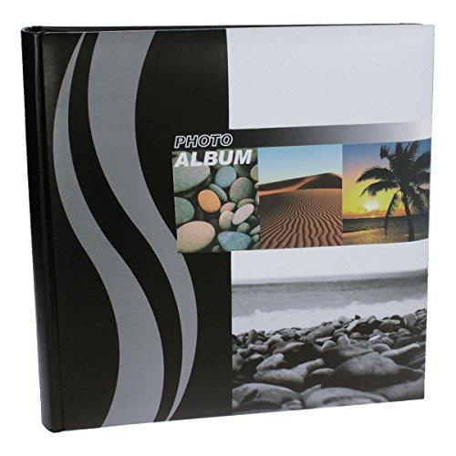 Photo Album Palm Tree - Dorr Wave Palm Tree Traditional Photo Album 100 Side 12'' Square [810257PALM]