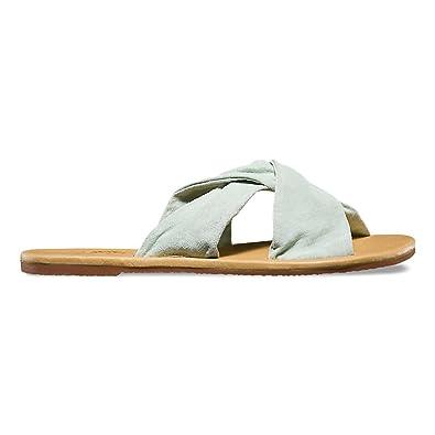 Vans Womens Ayla Slide Sandals Suede Bay Size 7 ec04a5e4a7