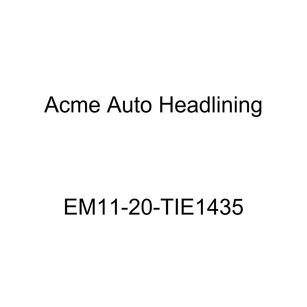 Acme Auto Headlining EM11-20-TIE1435 Tan Replacement Headliner 1935 Buick Series 50, 60, 80, 90, 4 Door Limo with Divider Glass