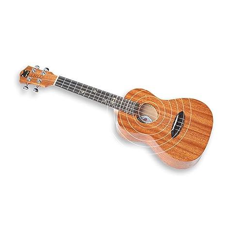 Ukelele, Ukelele de chapa de caoba, guitarra pequeña de cuatro ...
