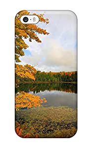 For Iphone 5/5s Fashion Design Lake Case-IomaQWu28882vShYo