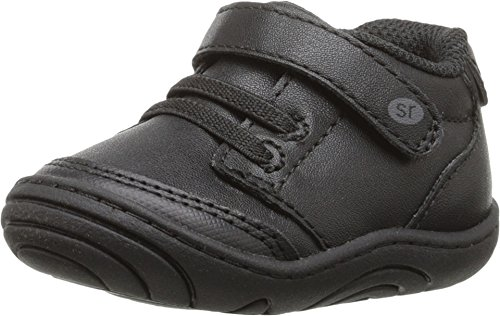Stride Rite Unisex Taye (Infant/Toddler) Black Synthetic 4.5 M US Toddler (Stride Shoes Baby Ride)