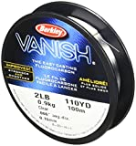 Berkley Vanish 110 yd, Pound test 4