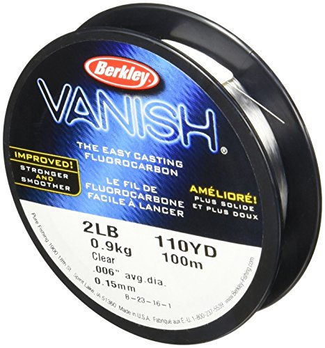 Fishing Clear Line (Berkley Vanish 110 yd, Pound test 4)