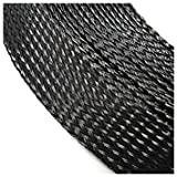 TOOGOO(R) 12mm 10M PET Braided Expandable Auto Wire Cable Lot Sleeving Sheathing