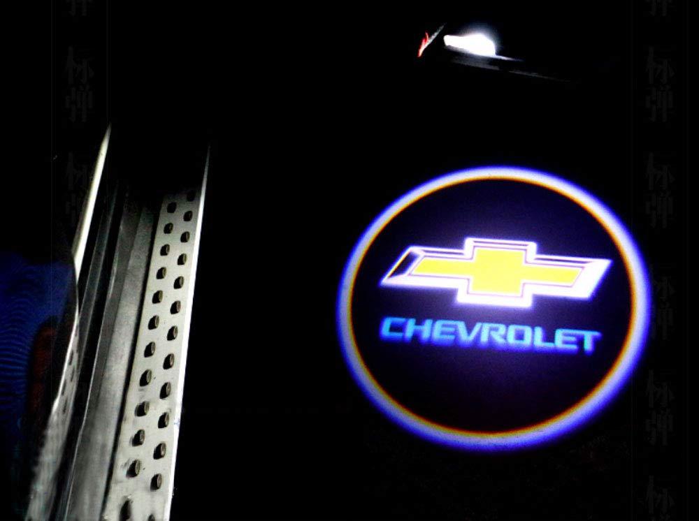 2 proiettori LED universali senza fili per auto per tutte le auto luci di benvenuto con logo laser