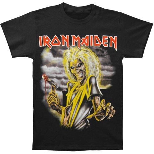 Global Iron Maiden Men's Killers T-Shirt Black (Medium)