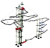 Odyssey Battery-Operated Dual-Motor Marble Run - Advanced, Fun Design Transports Marbles on Elevator! - Contains 520 Pieces +60 Marbles; for Builders Age 12+