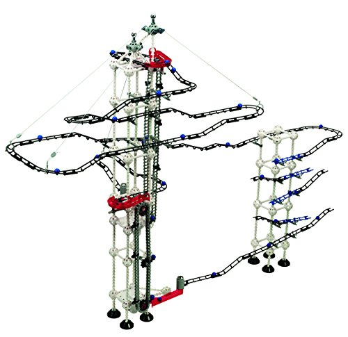 Odyssey Battery-Operated Dual-Motor Marble Run - Advanced, Fun Design Transports Marbles on Elevator! - Contains