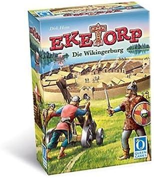 Desconocido Queen Games 6049 Eketorp - Juego de Mesa, de 3 a 6 Jugadores [Importado de Alemania]: Amazon.es: Juguetes y juegos