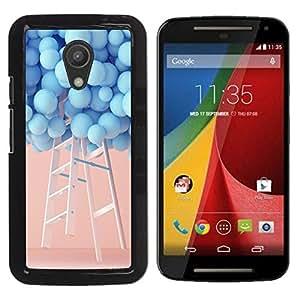 Dragon Case - FOR Motorola G 2ND GEN II - I miss you - Caja protectora de pl??stico duro de la cubierta Dise?¡Ào Slim Fit