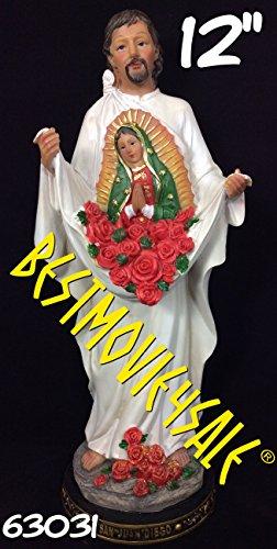 Virgen De Guadalupe Juan Diego (Statue Juan Diego Y Virgen de Guadalupe 12