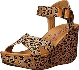Blowfish Women\'s Dellis Sandal (7 B(M) US, Golden Safari)