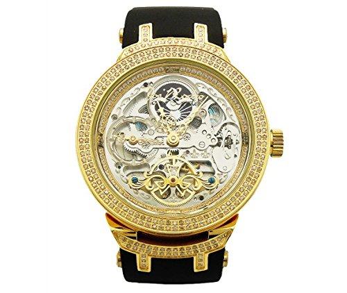 Joe Rodeo Diamant Herren Uhr Master Gold 2 2 Ctw Amazon De Uhren