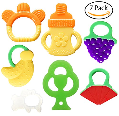Bassion Baby Teething Toys Toddlers