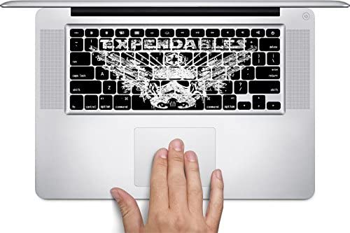 Expendable Stormtrooper Art Keyboard Decals by MWCustoms for 12 inch MacBook