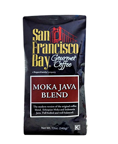 Java Estate Green Coffee (San Franscisco Bay Coffee Moka Java Whole Bean, 12-Ounce (Pack of 3))