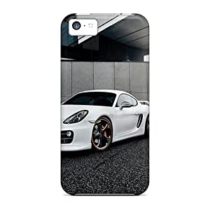Tpu Fashionable Design Techart Porsche Cayman 2014 Rugged Case Cover For Iphone 5c New