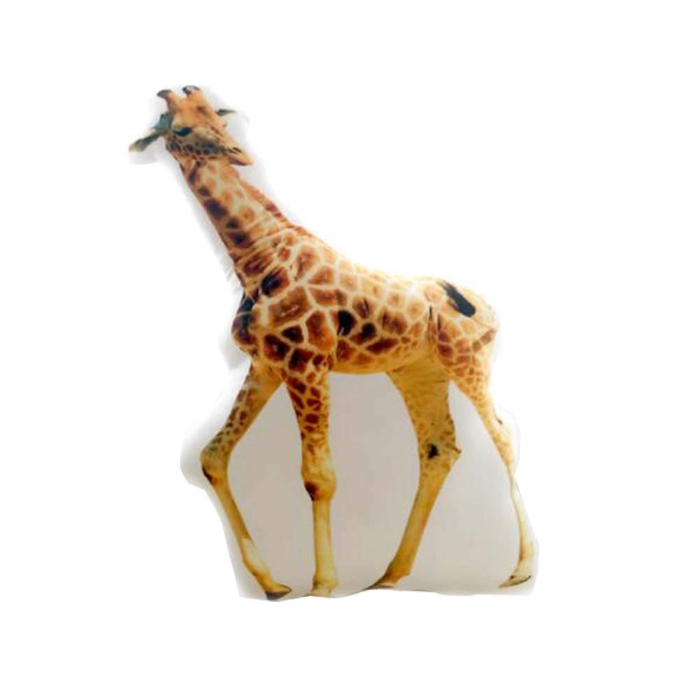 East Majik Animal Simulated Pillow Animal Shape Cushion Pillow £¨Giraffe£