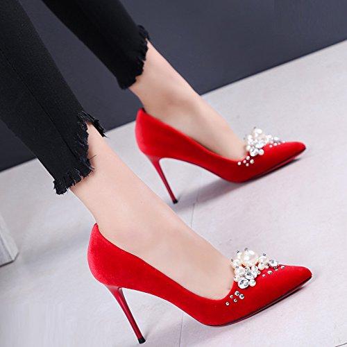 Taladro Zapatos Y De o Ligeras Matrimonio Zapatos Zapatos Zafiro Solo Oto De De Sugerencia Sat Novia Agua Nueva SFSYDDY Delgadas Primavera Con 9Cm gqYfwFq