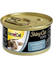 جيمبورن شايني كات طعام رطب للقطط بالتونة والروبيان ، 70 غم